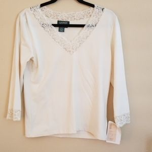 Lacey v neck top